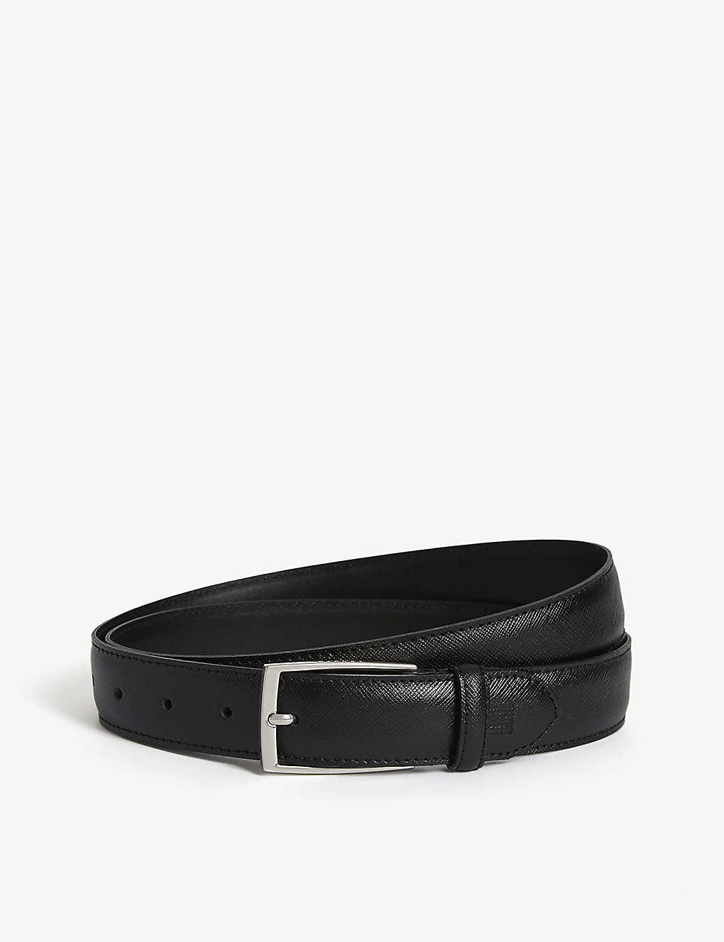 SANDRO: Saffiano leather belt