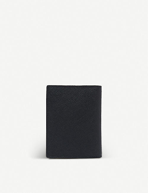 SANDRO: Saffiano leather wallet