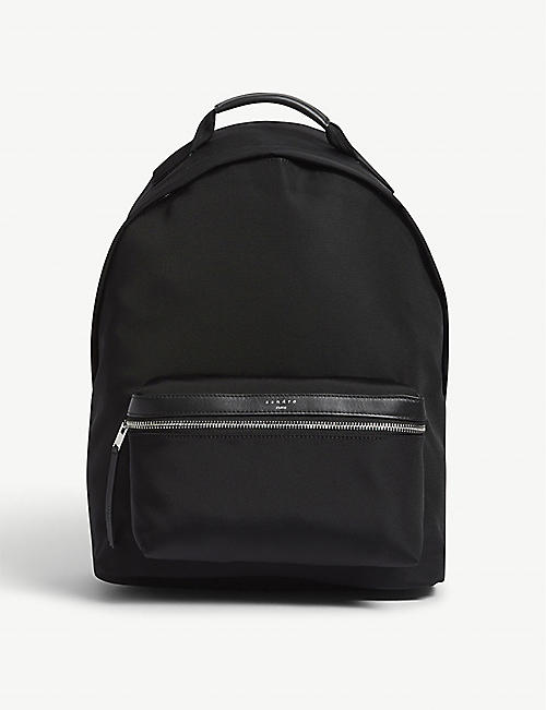 SANDRO: Nylon backpack