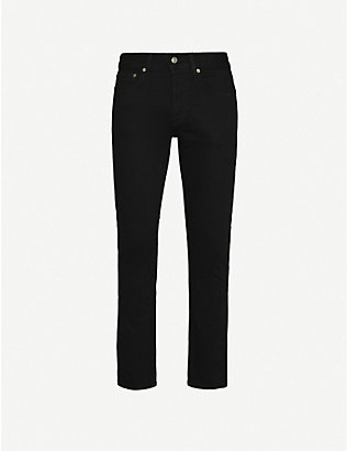 SANDRO: Straight slim-fit jeans