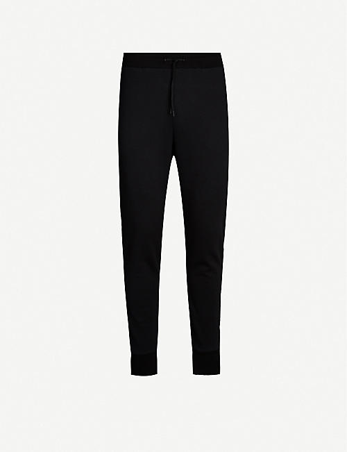 SANDRO Tapered stretch-woven jogging bottoms