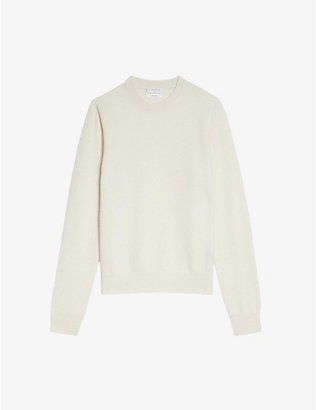 SANDRO: Regular-fit cashmere jumper