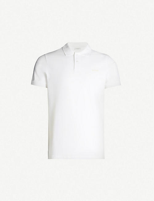 SANDRO Love regular-fit cotton-piqué polo shirt