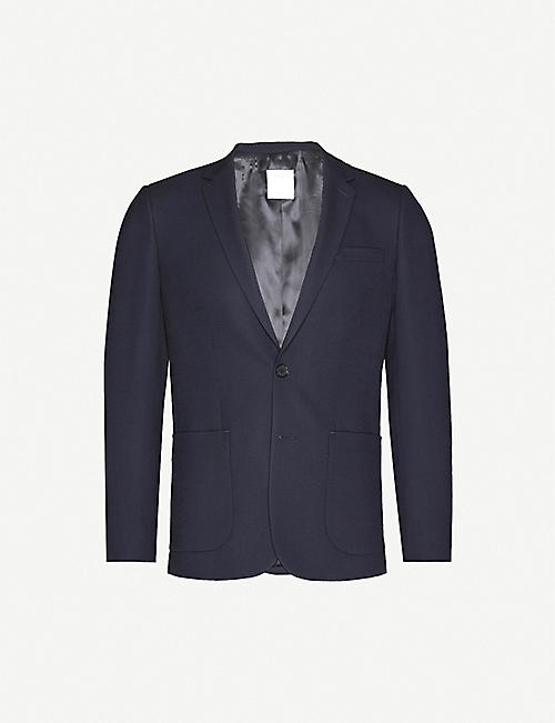 SANDRO: Regular-fit wool-blend blazer