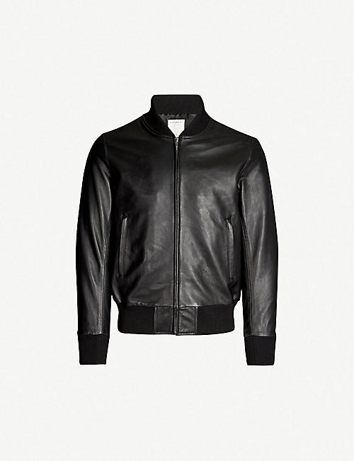 db2e60f606 Leather jackets - Coats & jackets - Clothing - Mens - Selfridges ...