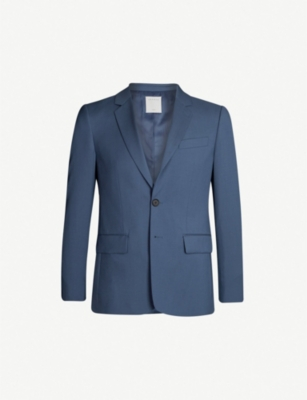 SANDRO Virgin wool blazer