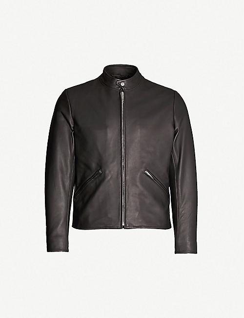 141c3900 Leather jackets - Coats & jackets - Clothing - Mens - Selfridges ...