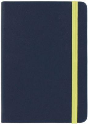 PAPERCHASE Agenzio navy/yellow s ruled