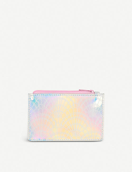 PAPERCHASE Mermaid Squad iridescent coin purse