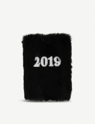 PAPERCHASE Fluffy A5 2019 diary 15cm x 21cm