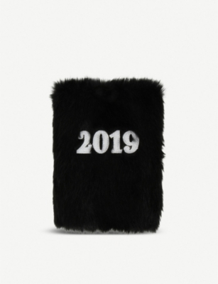 PAPERCHASE Fluffy A6 2019 diary 11cm x 15cm