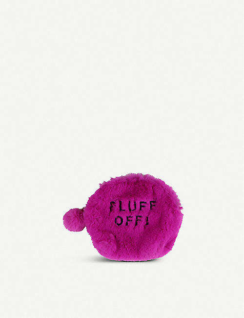 PAPERCHASE Fluff Off coin purse