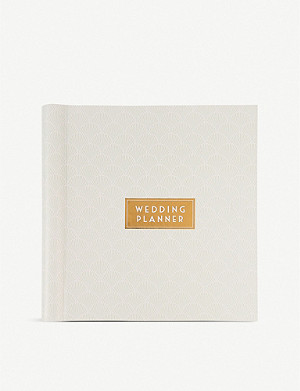 PAPERCHASE Art Deco-print wedding planner 24.5cm x 24.5cm
