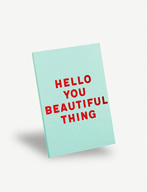 PAPERCHASE Beautiful Thing A5 notebook