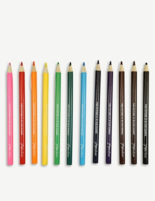 PAPERCHASE Conscious Living chunky colouring pencils set of 12