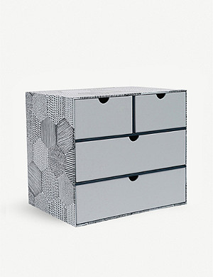 PAPERCHASE Pretty Dashing four drawer desk unit 23cm x 16cm x 20cm