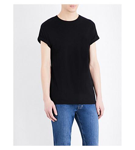 59f8a3a55 TOPMAN - Muscle-fit cotton-jersey T-shirt | Selfridges.com