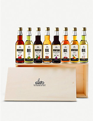 IL GUSTO: Miniature oils & vinegars gift set of eight
