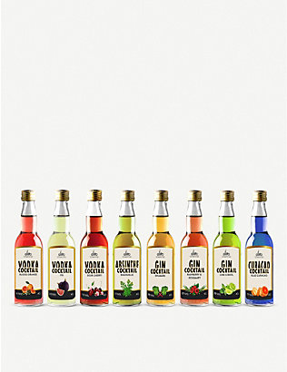IL GUSTO: Miniature Fruity Cocktails & Liqueur gift set 8 x 40ml