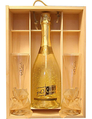 IL GUSTO: Sparkling Gold Cuvée gift set 750ml