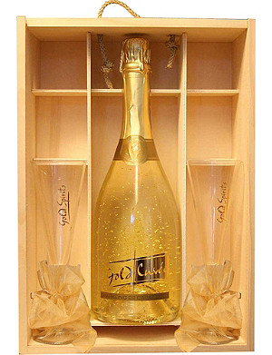 IL GUSTO Sparkling Gold Cuvée gift set 750ml