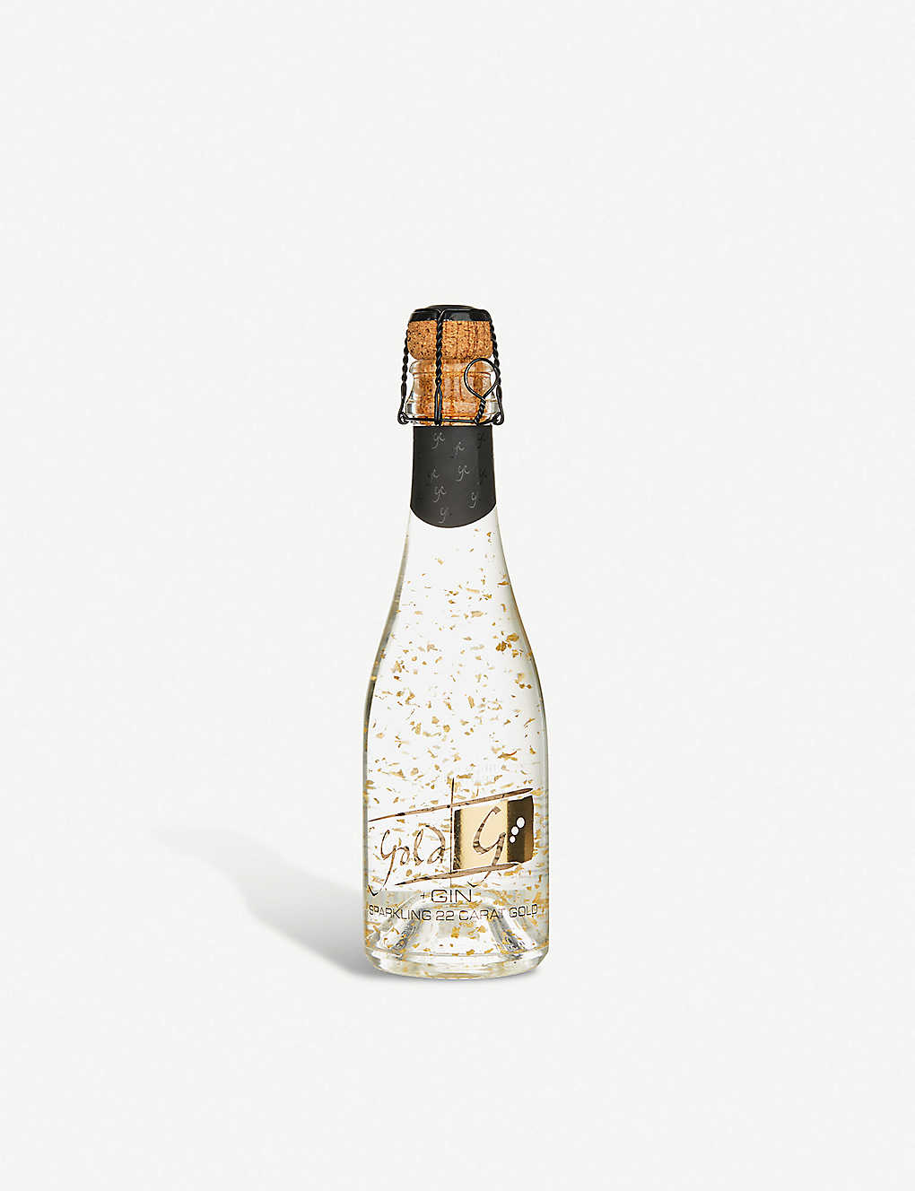 IL GUSTO: Sparkling 22ct gold flake gin 200ml