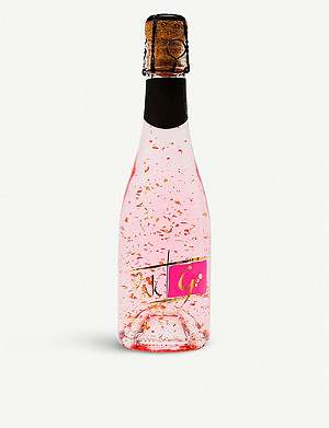 IL GUSTO Sparkling 22ct gold flake pink gin 200ml