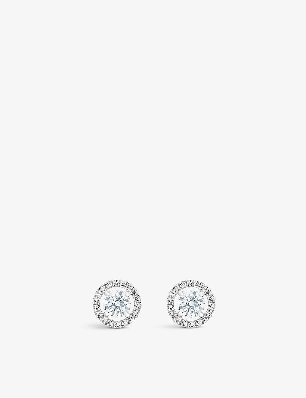 4e9600fdd DE BEERS - My First De Beers Aura Stud Earrings | Selfridges.com