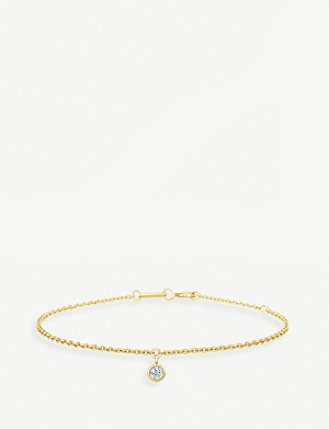 DE BEERS My First De Beers 18ct yellow-gold and diamond bracelet