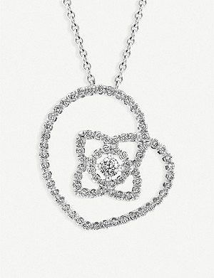 DE BEERS ENCHANTED LOTUS PENDANT
