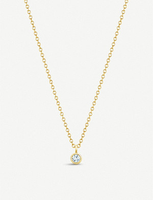 DE BEERS My First De Beers 18ct yellow-gold and diamond necklace