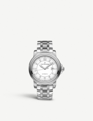 CARL F BUCHERER 00.10636.08.23.21 Patravistainless steel watch