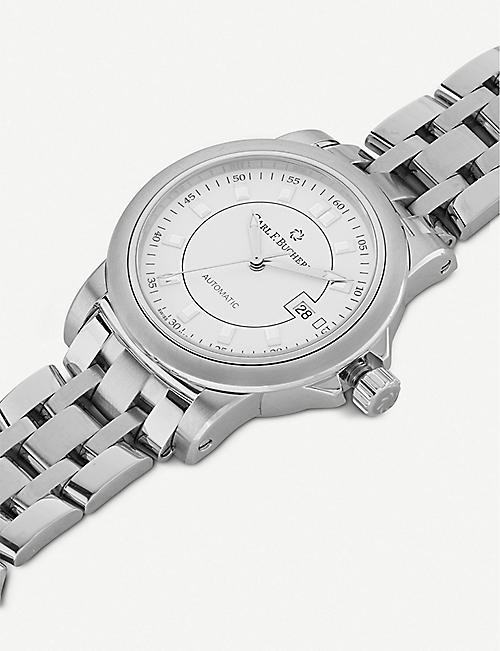 CARL F BUCHERER 00.10637.08.23.21 Patravi stainless steel watch