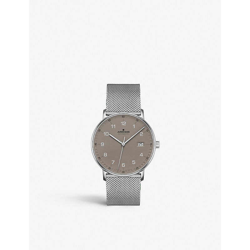 JUNGHANS Form A Stainless Steel 027/4836.44 Watch in Silver