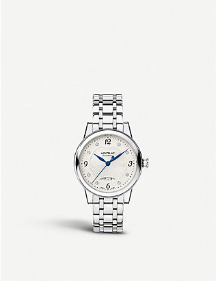 MONTBLANC: 111056 Boheme stainless steel watch