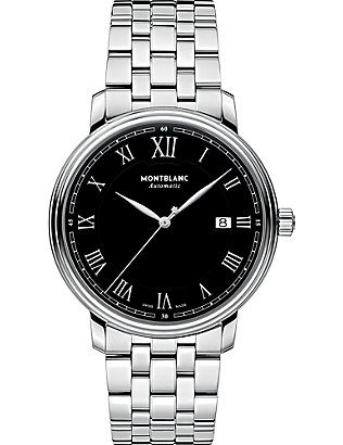 MONTBLANC: 116483 Tradition stainless steel watch