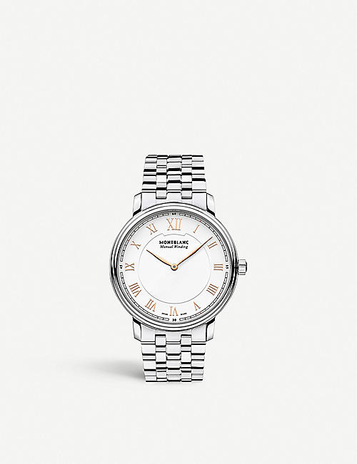 MONTBLANC: 119963 Tradition stainless steel watch