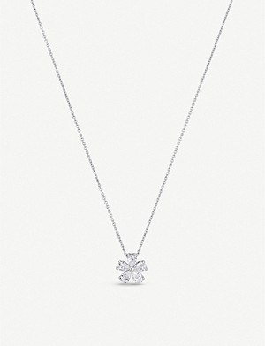 BUCHERER FINE JEWELLERY Diamond Classics 18ct white-gold and 0.45ct diamond necklace