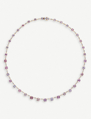 BUCHERER FINE JEWELLERY Pastello Soirée 18ct rose-gold necklace