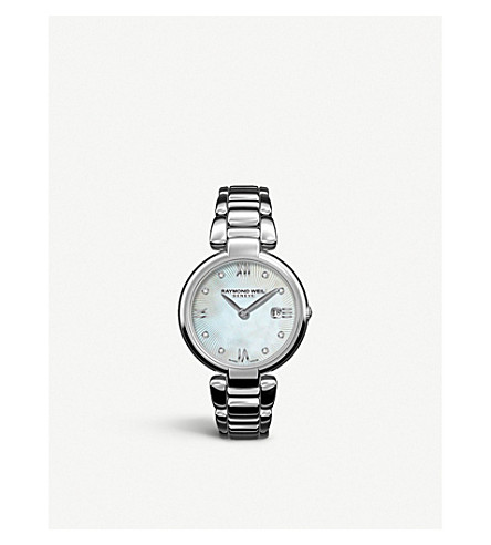 Raymond Weil 1600ST00995 MOTHER-OF-PEARL STAINLESS STEEL QUARTZ WATCH