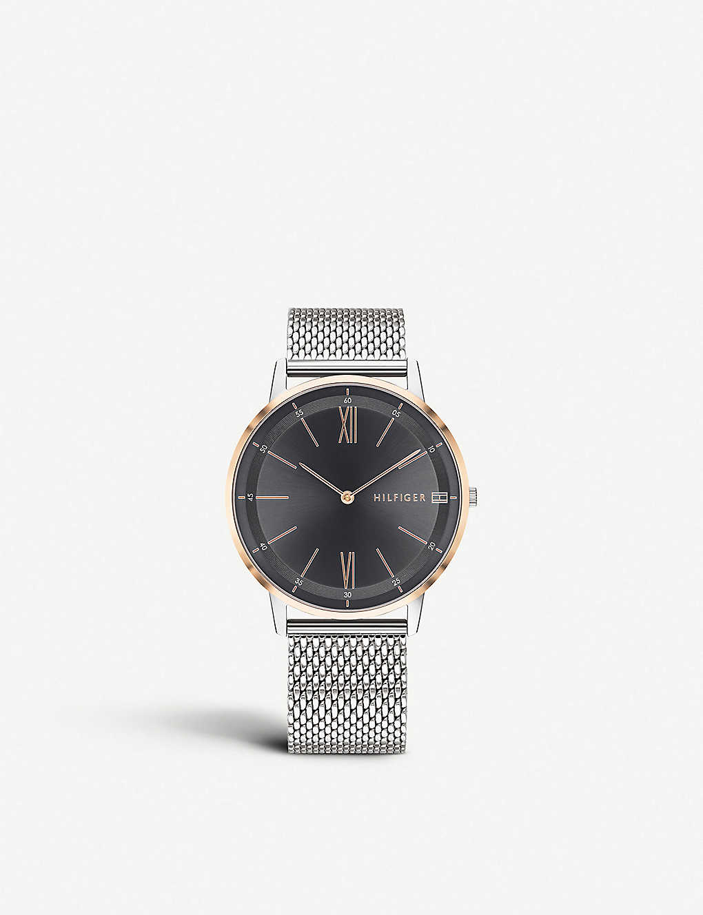 cb232eb0 TOMMY HILFIGER - 1791512 Cooper stainless steel and rose-gold plated ...