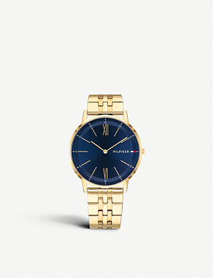 TOMMY HILFIGER 1791513 Cooper yellow gold plated watch
