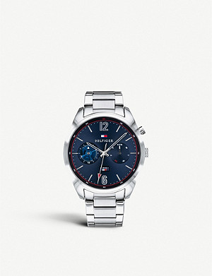 TOMMY HILFIGER 1791551 Descon stainless steel chronograph watch
