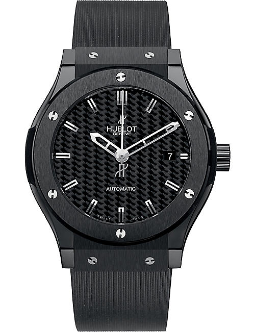HUBLOT 511.cm.1770.rx classic fusion black magic ceramic watch