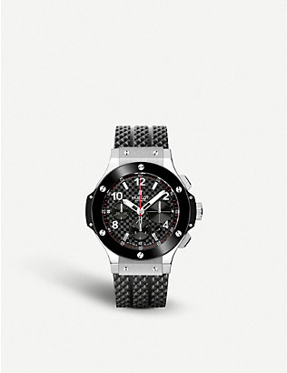 HUBLOT: 341.SB.131.RX big bang stainless steel watch