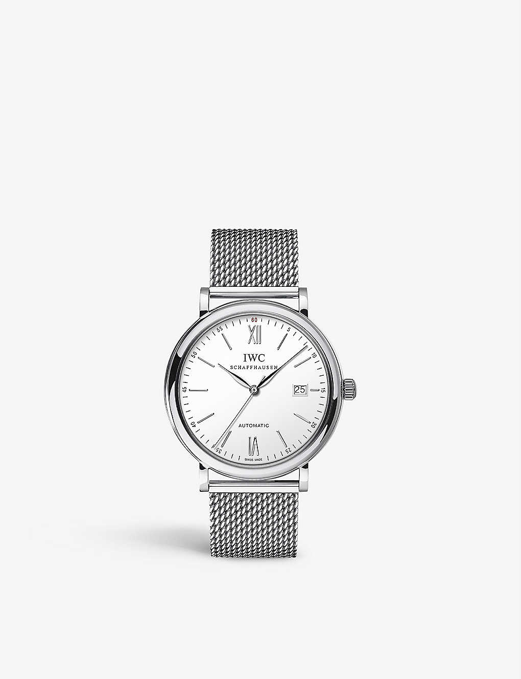 IWC SCHAFFHAUSEN: IW356505 portofino stainless steel watch