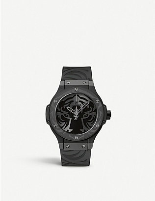 HUBLOT: 316.CI.1410.RX Black Jaguar White Tiger Foundation watch