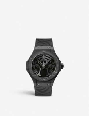 HUBLOT 316.CI.1410.RX Black Jaguar White Tiger Foundation watch