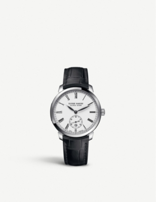 ULYSSE NARDIN3203-136-2/经典经典<div class=&quot;notranslate&quot; translation=&quot;不锈钢皮表带腕表&quot;>Stainless steel and皮革watch</div>