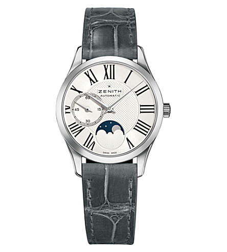 Zenith 03.2320.692/80.C714 Ultra thin Elite Lady Moonphase stainless steel watch